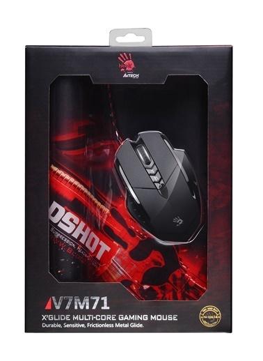 Bloody V7M71 Siyah Metal Ayak Hd Optical 3200 Cpı  Siyah